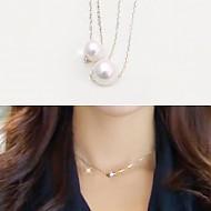 [智慧女神项链婚姻]★银★雪果冻珍珠项链
