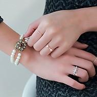 ★银★SuYeon苗条指关节戒指
