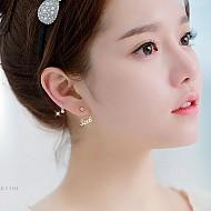 [单独出售]★银★迷你粗呢耳环(耳廓耳环)