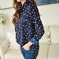 与星星(星星图案衬衫)