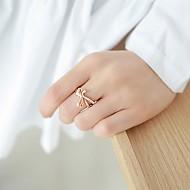 欢迎蝴蝶结戒指