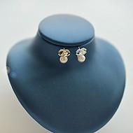 ★银针★华丽的珍珠耳环